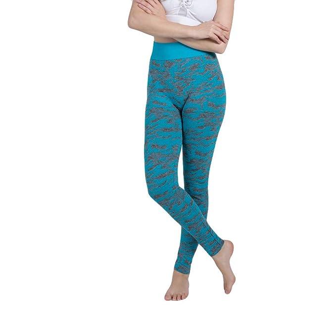 Yoga Pantalones Deportivos Mujer,Camuflaje Sin Costuras ...