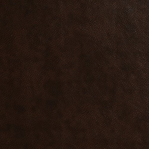 [G482 Coffee Brown Small Leather Grain Upholstery Grade Recycled Leather (Bonded Leather) By The] (Recycled Material Costume)