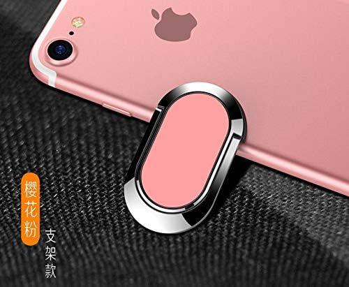 C-KU携帯電話フラットリングブラケットリングバックルバックル360度回転リングバックル磁気携帯電話ブラケット (Color : C)