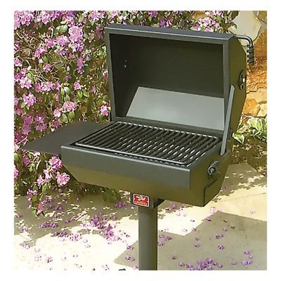 Covered BBQ Grill/Smoker, Model# EC-26/S B2 by Pilot Rock