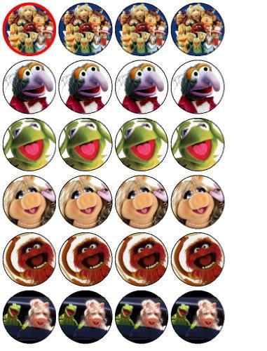 (24 Muppets Cupcake Wafer)