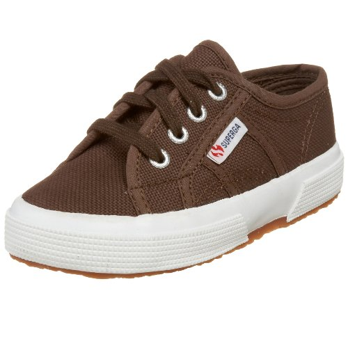 Superga Toddler J Classic Sneaker,Chestnut,33 EU (2 M US Little Kid) ()