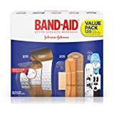 Band-Aid Brand Adhesive Bandage Variety Pack for First Aid and Wound Care, Assorted Sizes, 120 ct