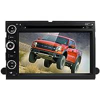 for Ford F150 F-150 F250 F-250 F350 F-350 F450 F-450 F550 F-550 In Dash GPS Navigation Double 2 Din Head Unit DVD Car Player Radio Bluetooth 4.0
