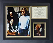 Legends Never Die Nirvana Framed Photo Collage, 11x14-Inch (16179U)