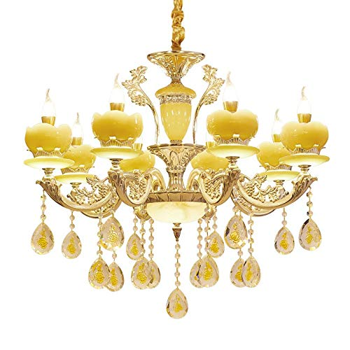 Uropean Chandeliers Jade Living Room Dining Room Bedroom Aisle Floor lamp ()