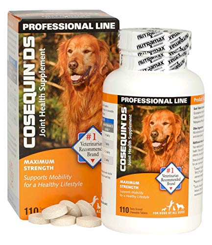 Rescue Super Strength Chewable Tablets - Cosequin Ds Max Strength Chewable Tablets 110 Capsules