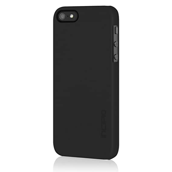 big sale 80d5b 24333 Incipio iPhone 5s Ultra Thin Case, [Feather] Snap-On Shockproof Slim Case  fits iPhone 5, iPhone 5s, and iPhone SE - Retail Packaging - Black