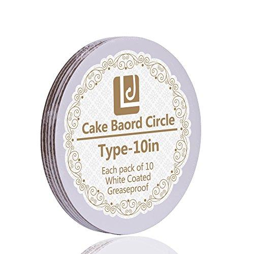10-Inch Cake Circle, 10-Pack ()