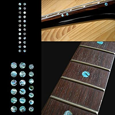 Fretboard Markers Inlay Sticker Decals for Guitar and Bass - Custom Dots Set-AB by jockomo