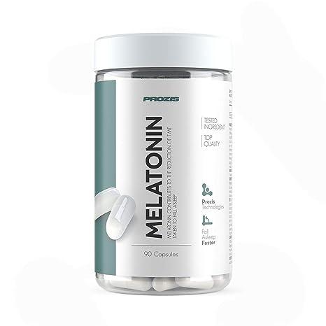 Prozis Melatonina - 90 Cápsulas: Amazon.es: Salud y cuidado personal