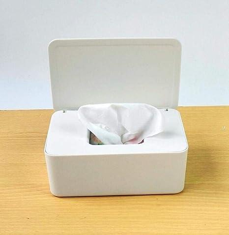 Caja de pañuelos húmedos cachorro hogar oficina toallitas distribuidores de la tapa de la puerta de