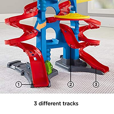 Fisher-Price Little People Take Turns Skyway: Toys & Games