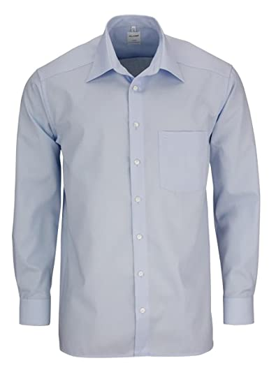 no sale tax official supplier casual shoes OLYMP Luxor Shirt long Light blue or dark blue, Farbe ...