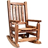 Montana Woodworks Homestead Collection Childrens Rocker, Stain and Lacquer Finish