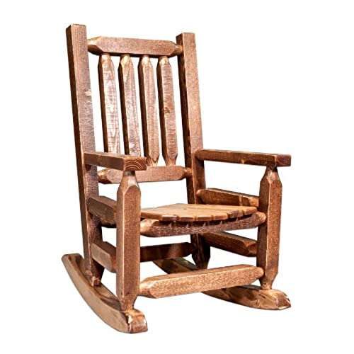 Delicieux Montana Woodworks Homestead Collection Childrenu0027s Rocker, Stain And Lacquer  Finish