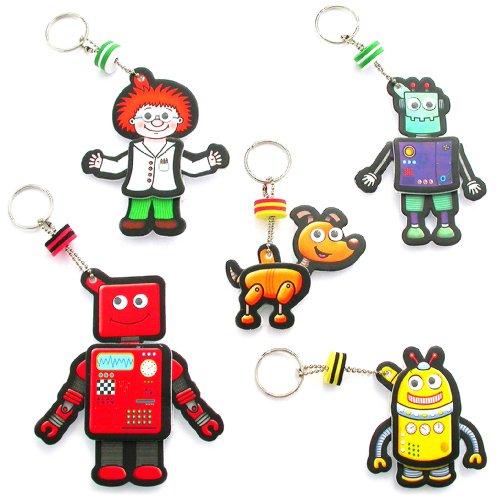Galt Robo Crew Keyrings