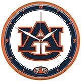 NCAA Auburn Tigers WinCraft Official Round Clock