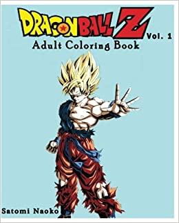 Dragon Ball Z Coloring Book Series Vol 1 Coloring Book