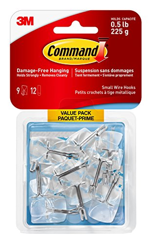 Command 17067CLRC-VP Wire Hooks Value Pack, Small, for sale  Delivered anywhere in Canada