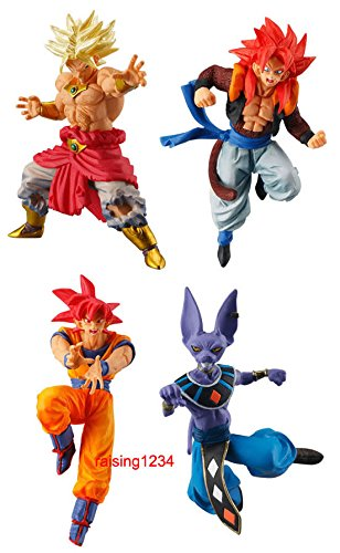 DASARA DragonBall Super VS DB Battle Figure 2 Series Gashapon (set 4 pcs)