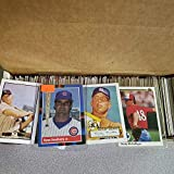 MLB Baseball cards 1000 plus to cover all if any duplicates, 1980's thru early 2000's rookies, stars, superstars from many brands of cards great to start collecting from over 3000000 card collection