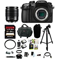 Panasonic GH4K w/ Panasonic H-FS12060 splash/dustproof sealed lens +64GB Acc kit