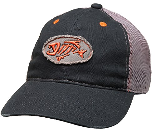 G. Loomis Distressed Oval Cap (Navy) (Oval Cap Patch)