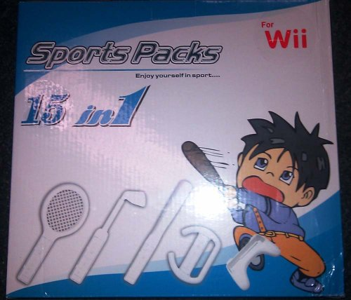 Nintendo WII 15 in 1 sport pack