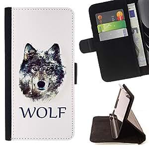 For LG G3 Case , LOBO- la tarjeta de Crédito Slots PU Funda de cuero Monedero caso cubierta de piel