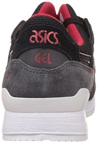 Gel Asics-lyte Iii De Los Hombres, Negro / Negro, 27 Cm