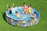 Bestway Steel Pro Above Ground Swimming Pool, Round