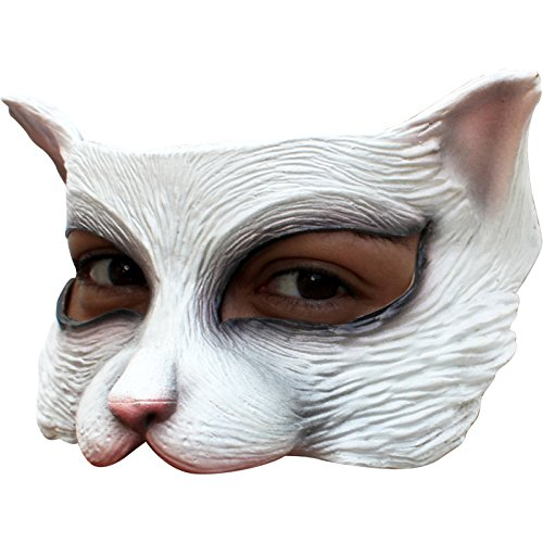 Price comparison product image Mask Half White Kitten