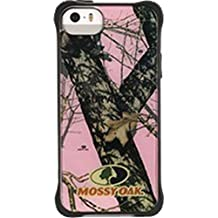 Griffin GB39224 Survivor Clear Case for iPhone 5/5s-Retail Packaging-Mossy Oak/Break-Up Pink