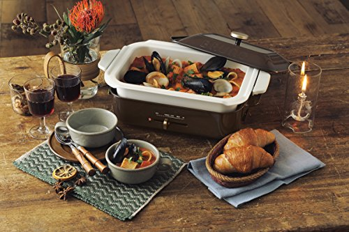 Bruno Compact Hot Plate Boe021 Br Brown Appliances Store