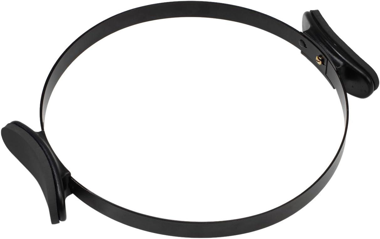 Peak Pilates® Pilates Equipment Powercircle III - Aro de Pilates (Resistencia, látex), Color Negro, Talla 14