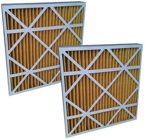 2-Pack 16x25x4//16x25x5 15.8x24.8x4.3 ULTRA 1080 MERV 11 Bryant Replacement Air Filter