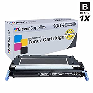 Clever Supplies© Compatible Replacement Toner Cartridges Black for HP 3600dn (Q6470A), HP 502A, COLOR LASERJET 3600, 3600N, 3600DN, 3800, 3800N, 3800DN, 3800DTN, CP3505, CP3505N, CP3505DN, CP3505X