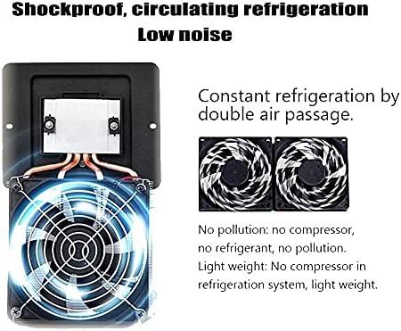 HRRF Frigorífico de Vino - Nevera de Vino, refrigerador, Tacto, 39 dB en Funcionamiento, Puerta de Vidrio, Ajuste de 53 a 64 ° F, Bodega compacta