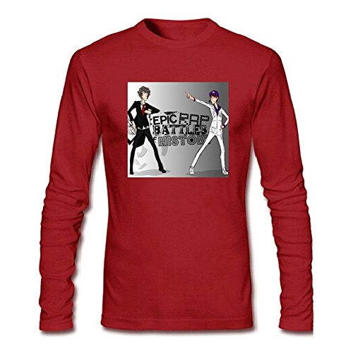 Men's Epic Rap Battles of History 1 Long Sleeve (New Dog History T-shirt)