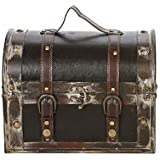 "Hosley's Decorative Storage Box - 11.75"" Long. Ideal Gift for Weddings, Spa, Office, Dorm, or Den"