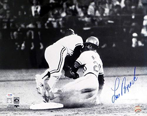 Lou Brock Autographed 16x20 Photo St. Louis Cardinals PSA/DNA #P23635