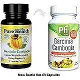Pure Health Garcinia Cambogia 800 milligram per serving 60 veg caps
