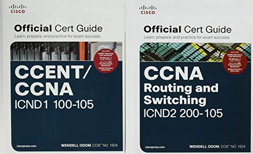 - CCNA Routing and Switching 200-125 Official Cert Guide Library