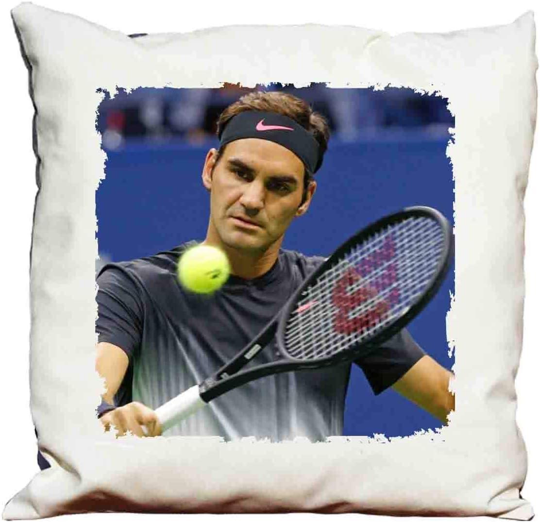 Federe X Cuscini.Cuscino Roger Federer Amazon It Casa E Cucina
