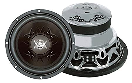 Lanzar VW84 Vibe 800 Watts 8-Inch 4 Ohm Subwoofer Sound Around