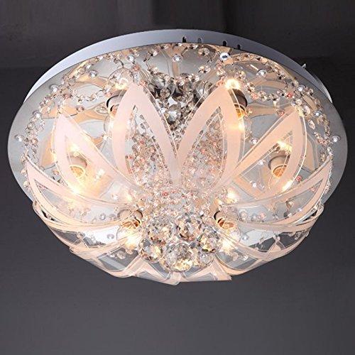 Fashion Kristall Leuchten Romantische Glas Blumen Wohnzimmer Deckenleuchte Schlafzimmer Lampe Esszimmer Lampen Amazonde