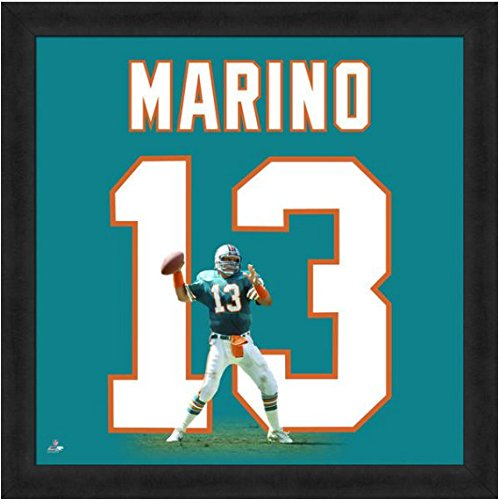 Miami Dolphins Dan Marino #13 Players Jersey Uniframe
