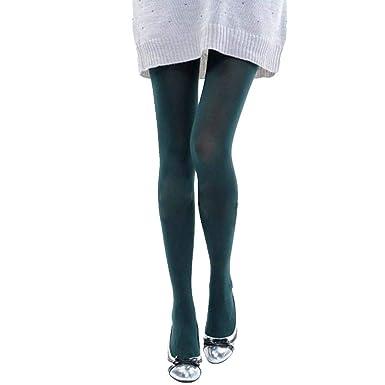 b44560ba4e2 conqueror Femmes Collant opaque automne brunâtre Collant Leggings Candy Sexy  Résille Cuisse-Haute Bas Chaussettes