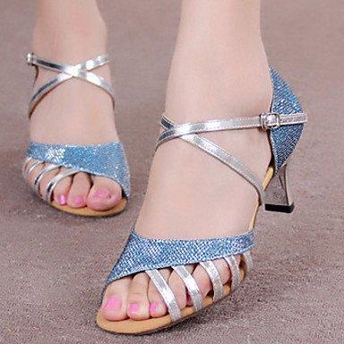 Dance Dance Dance Schuhes Quietness Damen Schuhe, glitzernd, glitzernd, High Heels, Damen,goldfarben 44920c